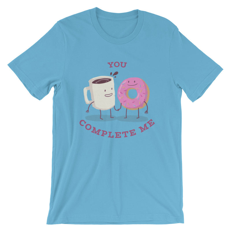 You Complete Me Short-Sleeve Unisex T-Shirt