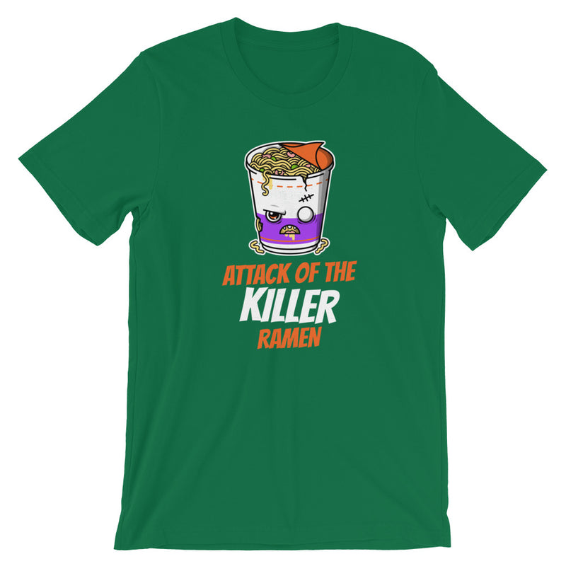 Attack Of The Killer Ramen Short-Sleeve Unisex T-Shirt