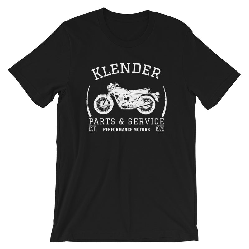 Klender Parts & Service Short-Sleeve Unisex T-Shirt