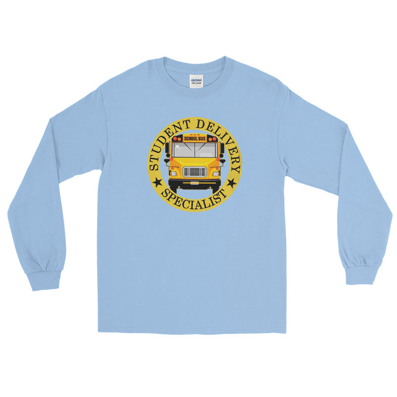 Student Delivery Bus Driver Specialist Long Sleeve T-Shirt