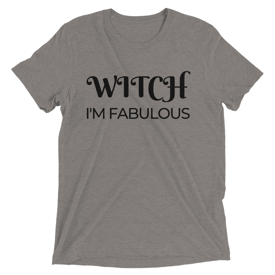 4d0ca7b8 Witch I'm Fabulous Woman's Short Sleeve T-Shirt – Corked Brew
