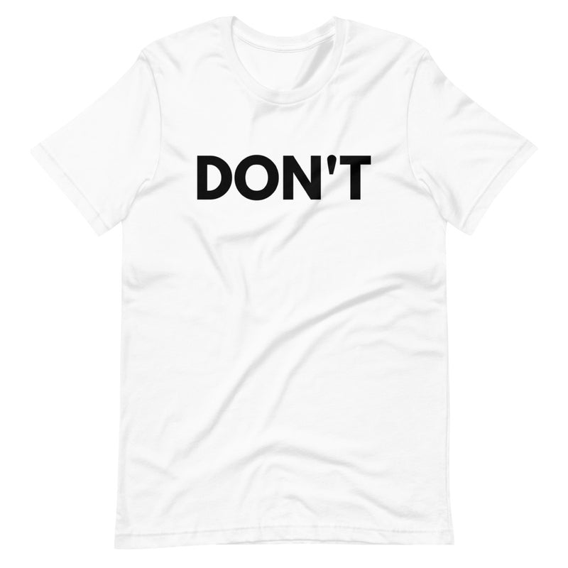 Schitt's Creek David Rose DON'T Short-Sleeve T-Shirt