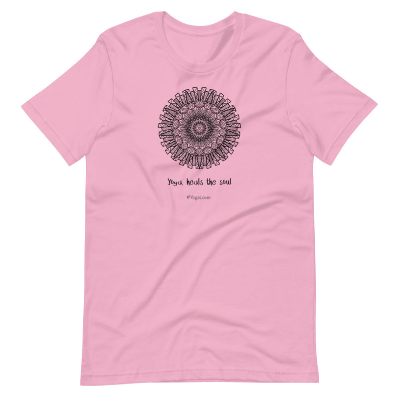 Yoga Heals Short-Sleeve Unisex T-Shirt