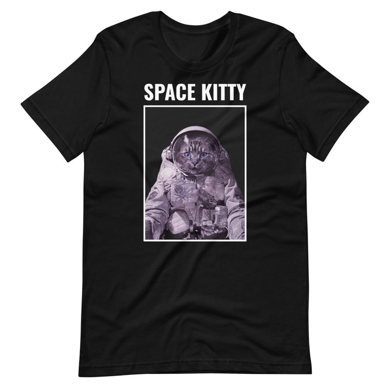 Space Kitty Short-Sleeve Unisex T-Shirt