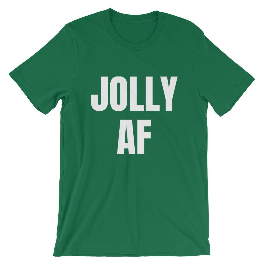 Jolly AF Short-Sleeve Unisex T-Shirt