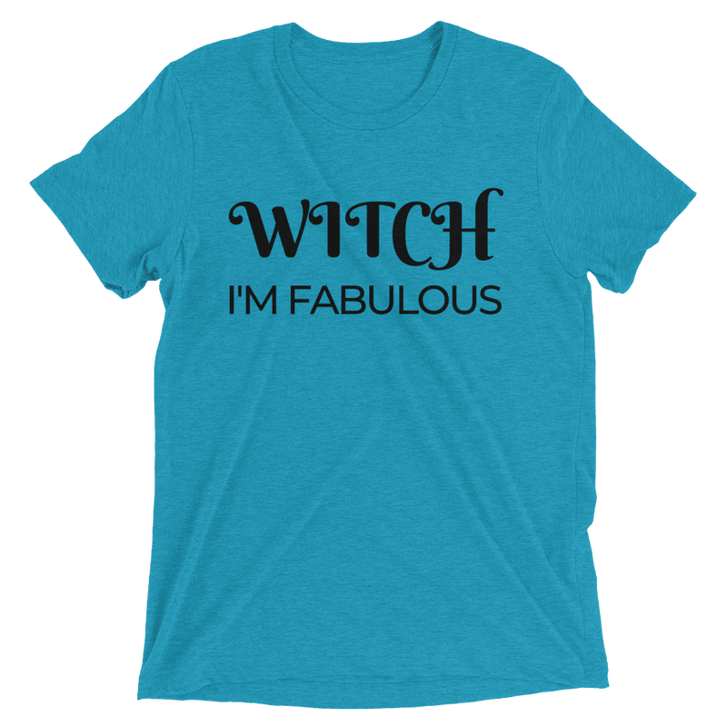 Witch I'm Fabulous Woman's Short Sleeve T-Shirt