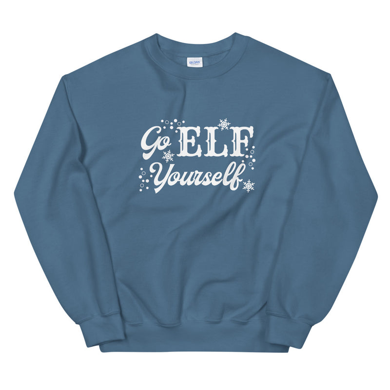 Go Elf Yourself Crewneck Sweatshirt