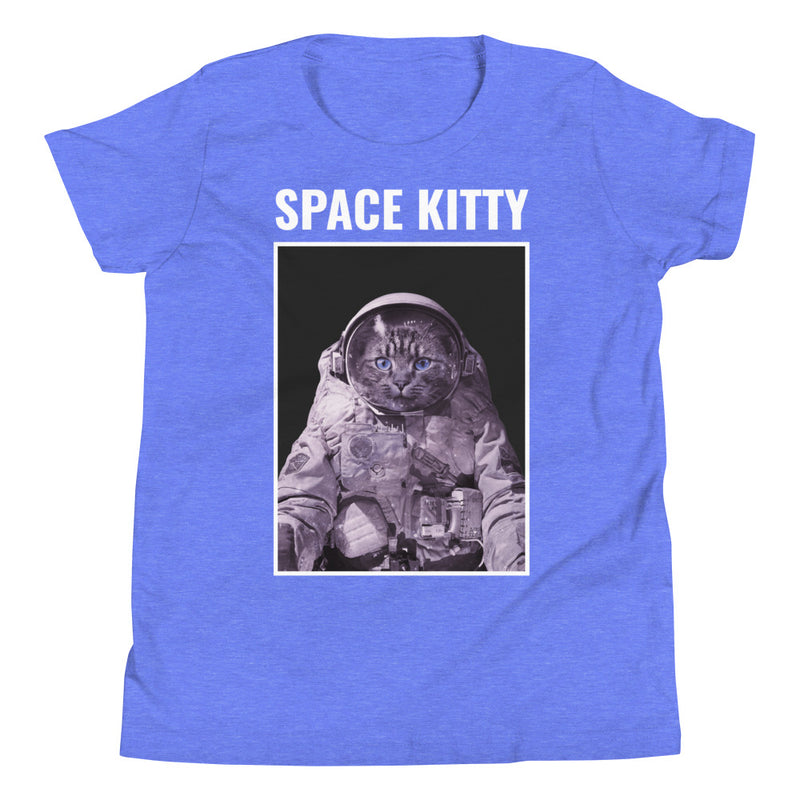 Space Kitty Youth Short Sleeve T-Shirt