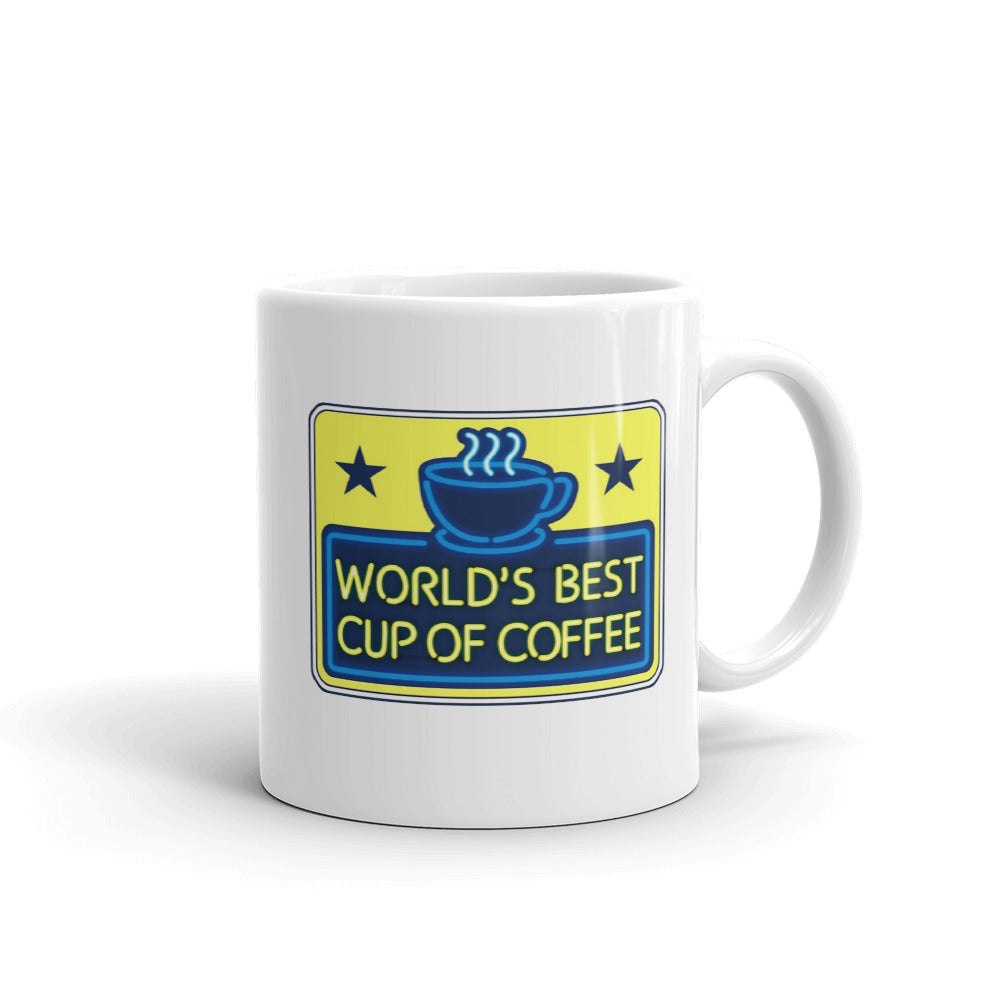 World's Best Cup Of Coffee - Elf Movie Christmas Mug