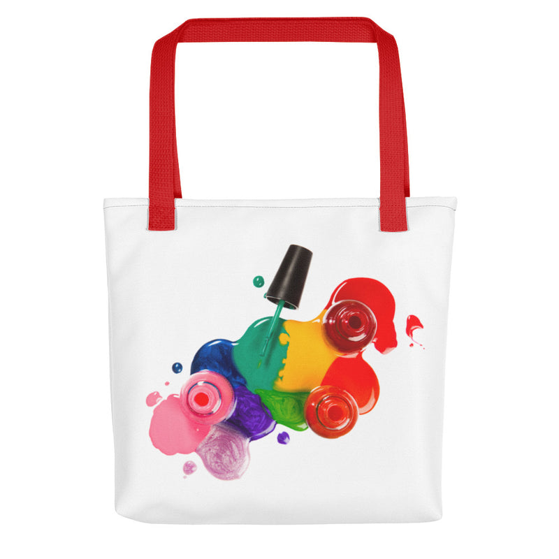 Nail Splash Makeup Tote bag
