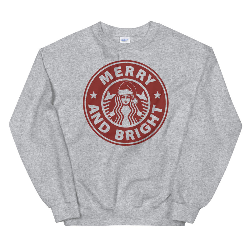 Starbucks Merry And Bright Unisex Sweatshirt