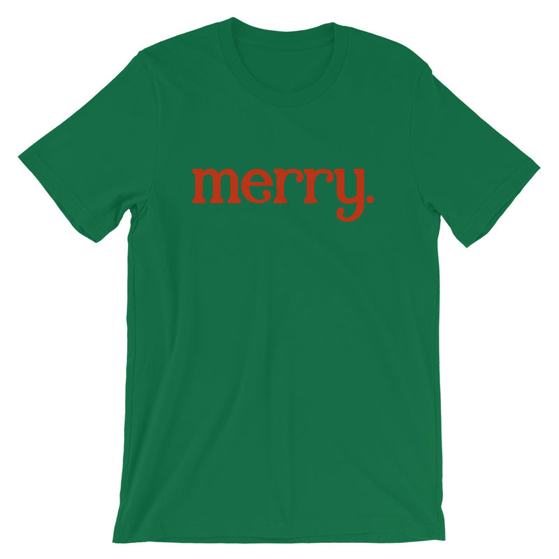 Merry. Christmas Short-Sleeve Unisex T-Shirt