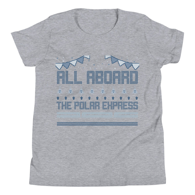 All Aboard The Polar Express Youth Short Sleeve T-Shirt