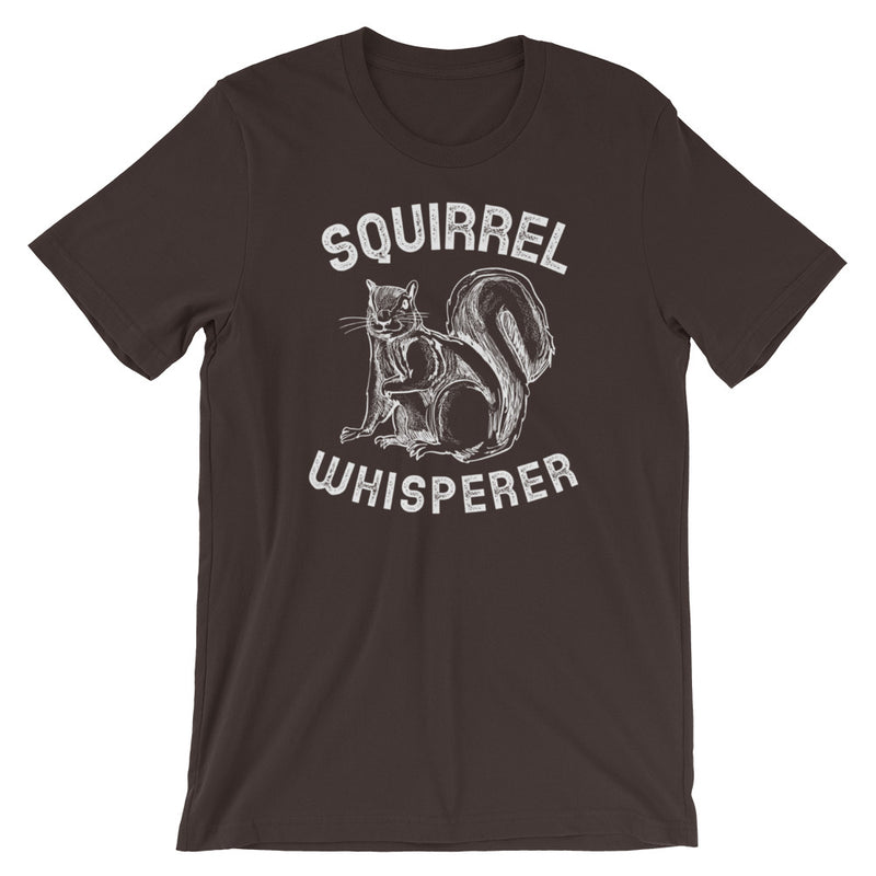 Squirrel Whisperer Short-Sleeve Unisex T-Shirt