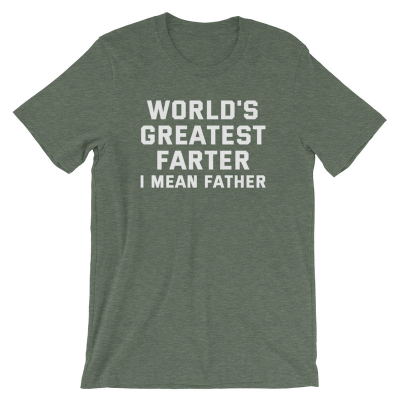 World's Greatest Farter Short-Sleeve T-Shirt