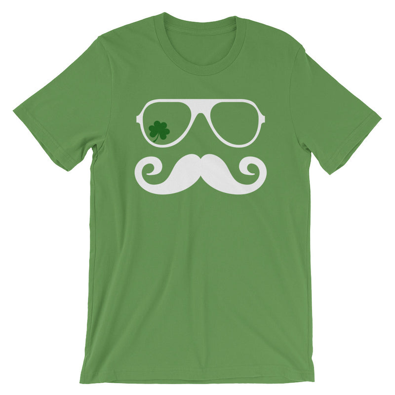 Shamrock Mustache St. Patrick's Day Short-Sleeve   T-Shirt