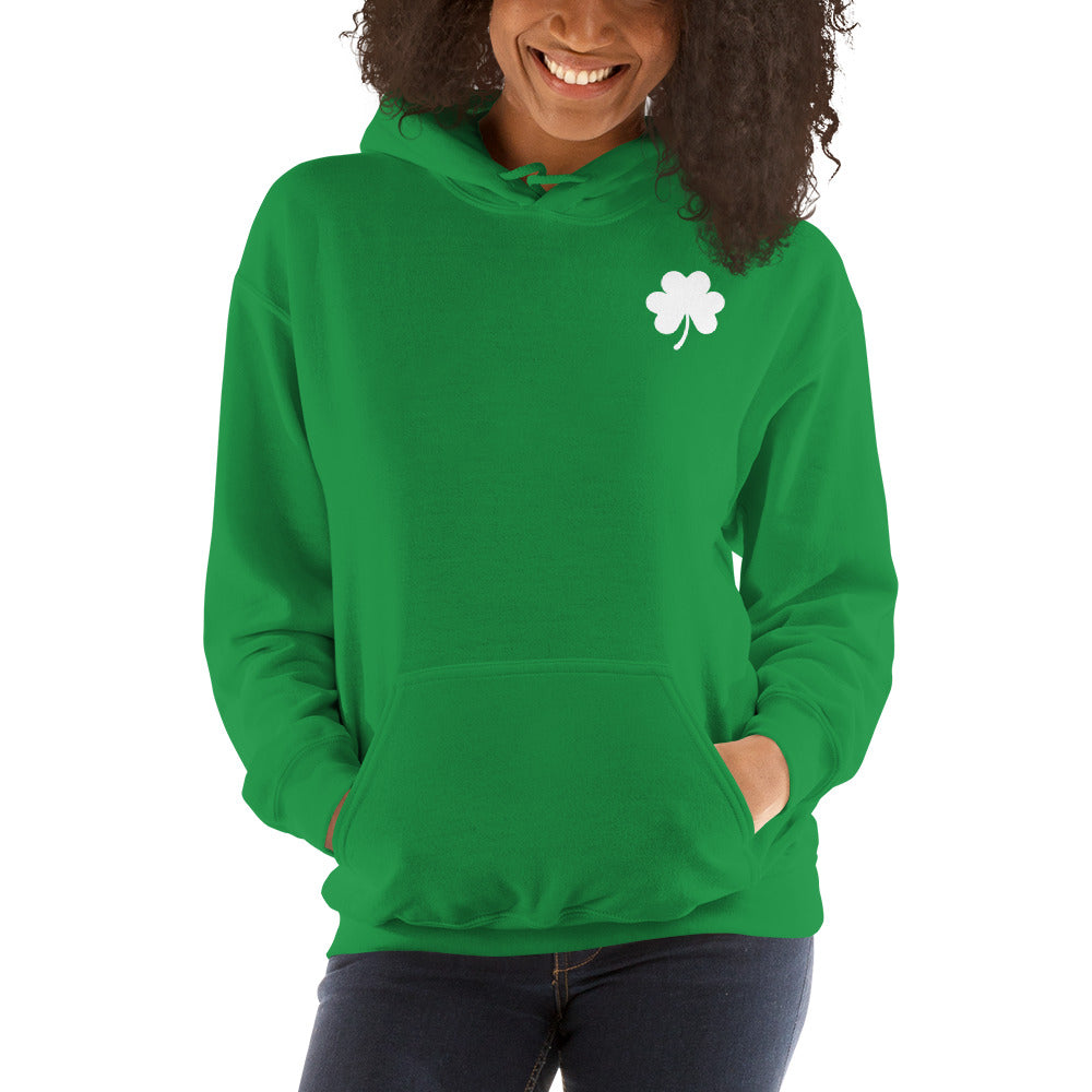 Lucky Clover   Hooded Sweatshirt