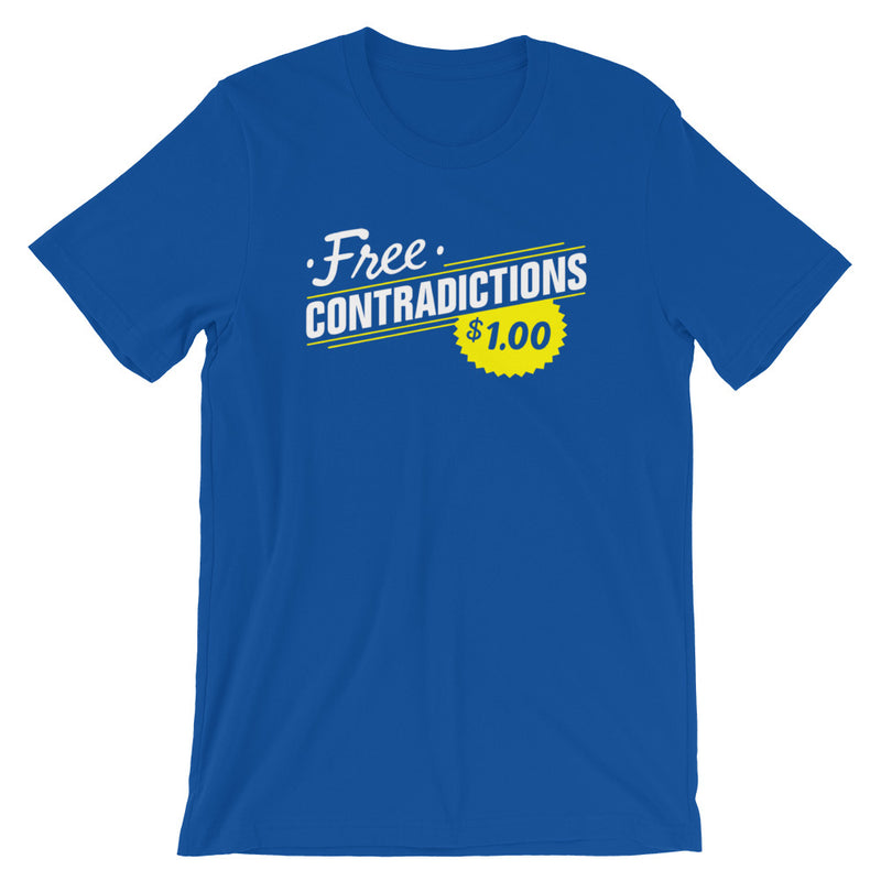 Free Contradictions Short-Sleeve Unisex T-Shirt