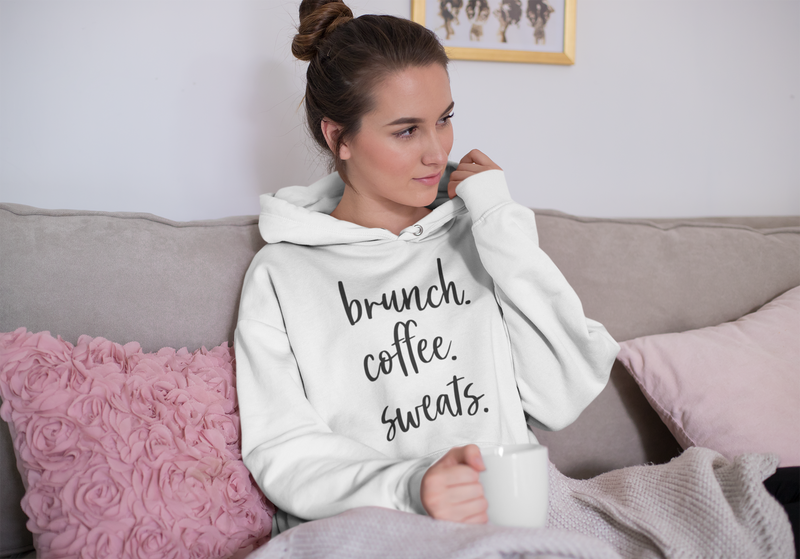 Brunch Coffee Sweats Unisex Hoodie