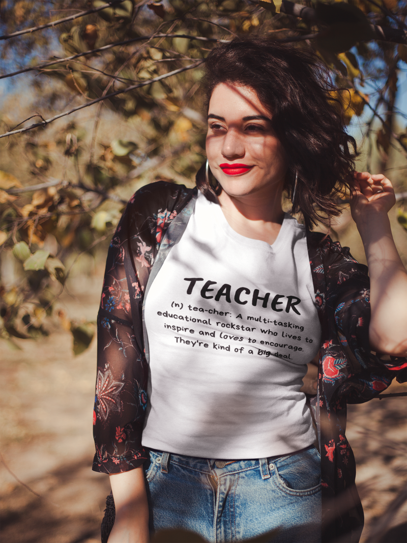 Teacher Educational Rockstar Short Sleeve Plus Size T-Shirt