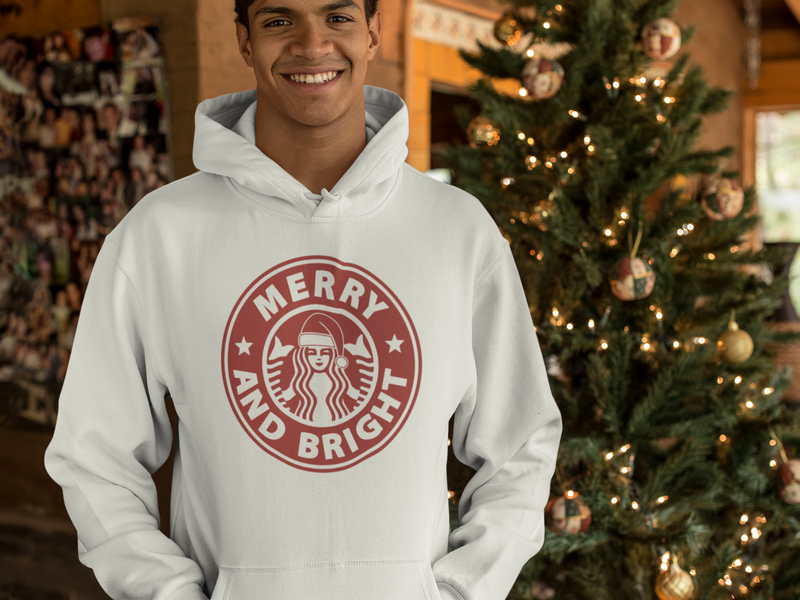 Starbucks Merry And Bright Unisex Hoodie