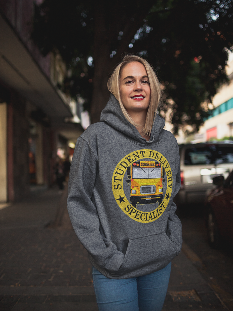 Student Delivery Specialist Bus Driver Unisex Hoodie