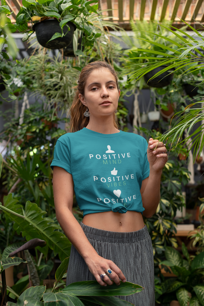 Positive Mind, Vibes & Life Short-Sleeve Unisex T-Shirt