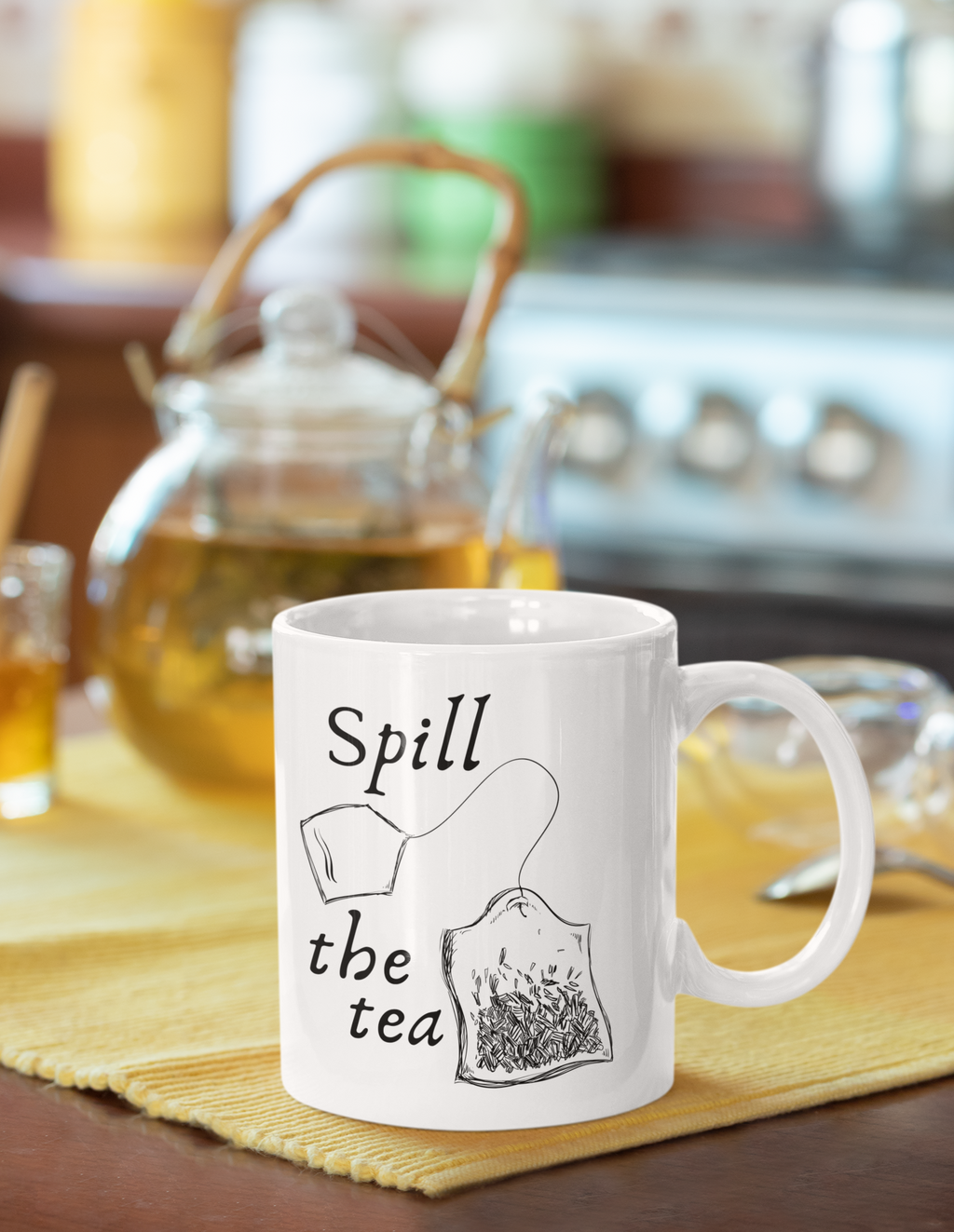 Spill The Tea Coffee Mug