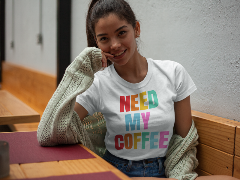 Need My Coffee Short-Sleeve T-Shirt