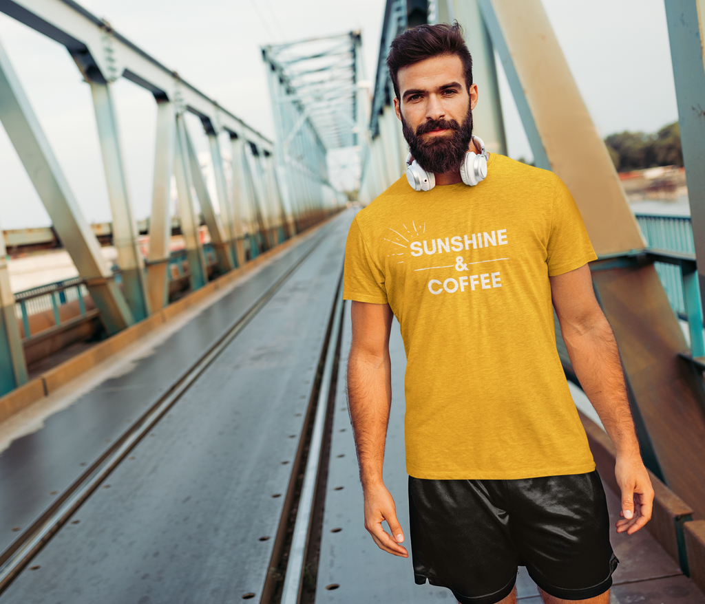 Sunshine & Coffee Short-Sleeve T-Shirt