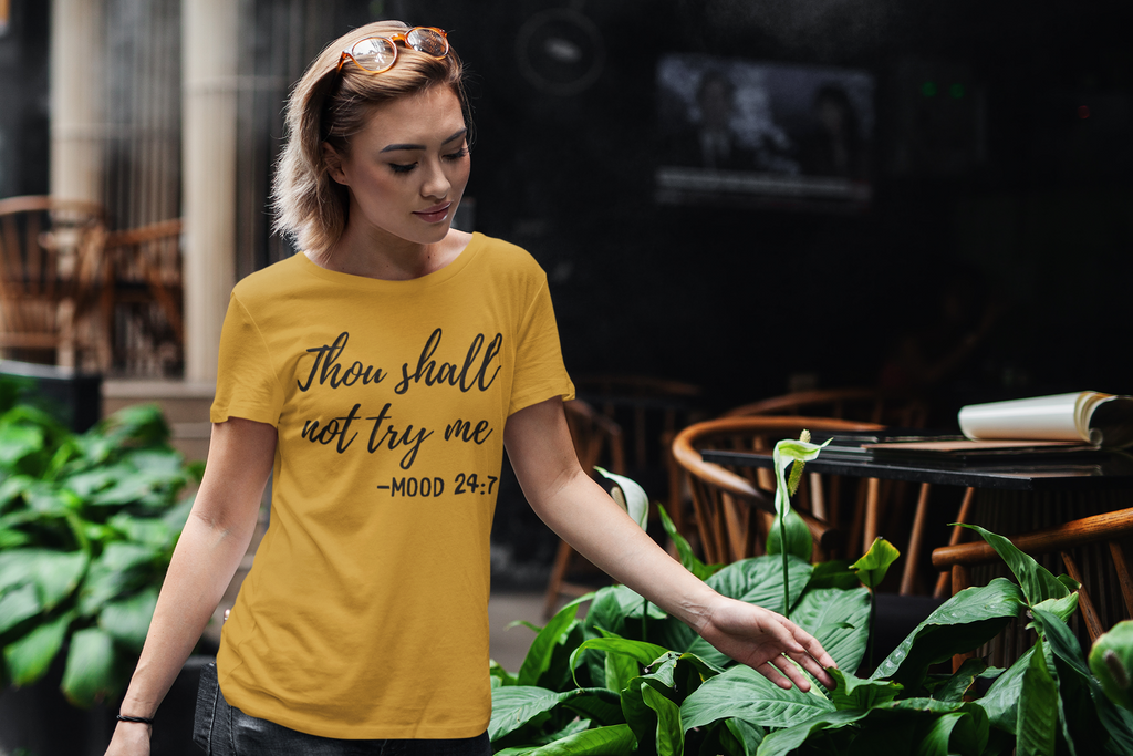 Thou Shall Not Try Me Short-Sleeve T-Shirt