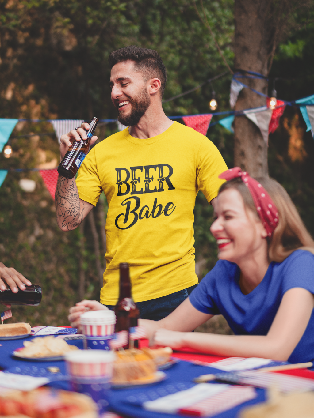 Beer Babe Short-Sleeve T-Shirt