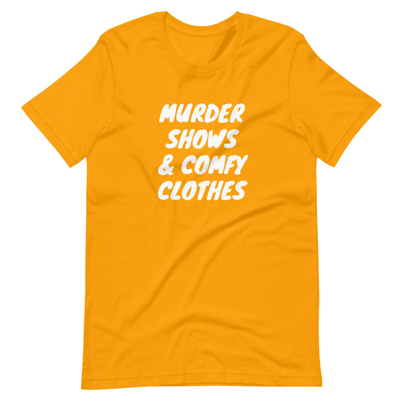 Murder Shows & Comfy Clothes Short-Sleeve T-Shirt