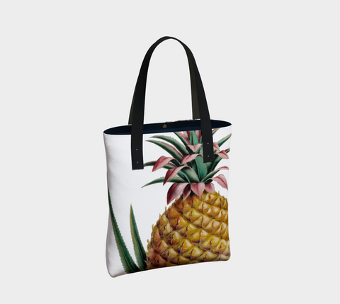 Vintage Botanical Pineapple Tote