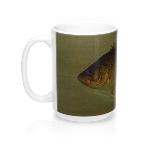 Rock Bass Vintage Print Mug 15oz.