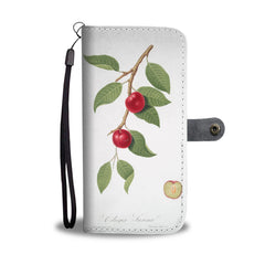 BOtanical Cherries Phone Wallet