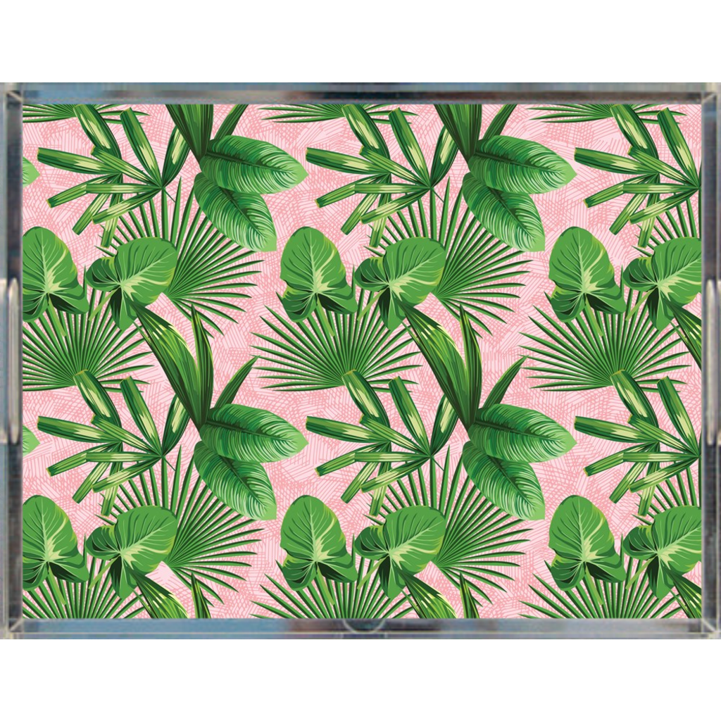 Palm Beach Pink Acrylic Tray
