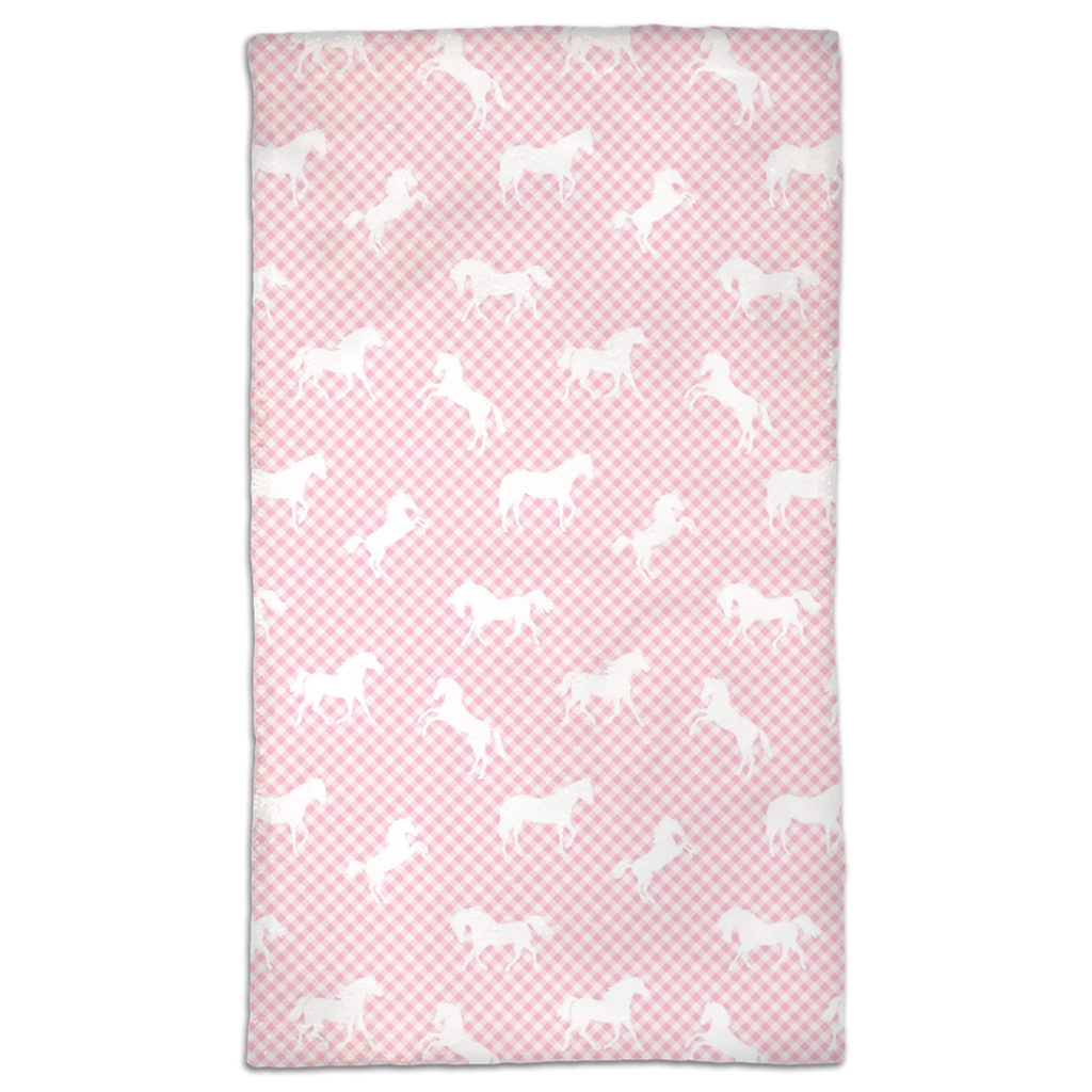 Pony Plaid Hand Towel