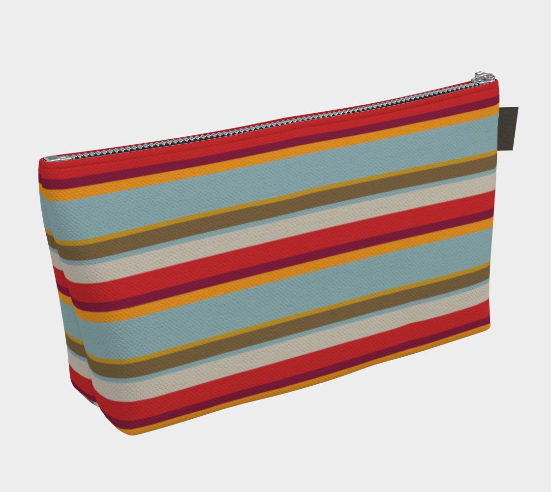 Kensington Stripes Make Up Bag