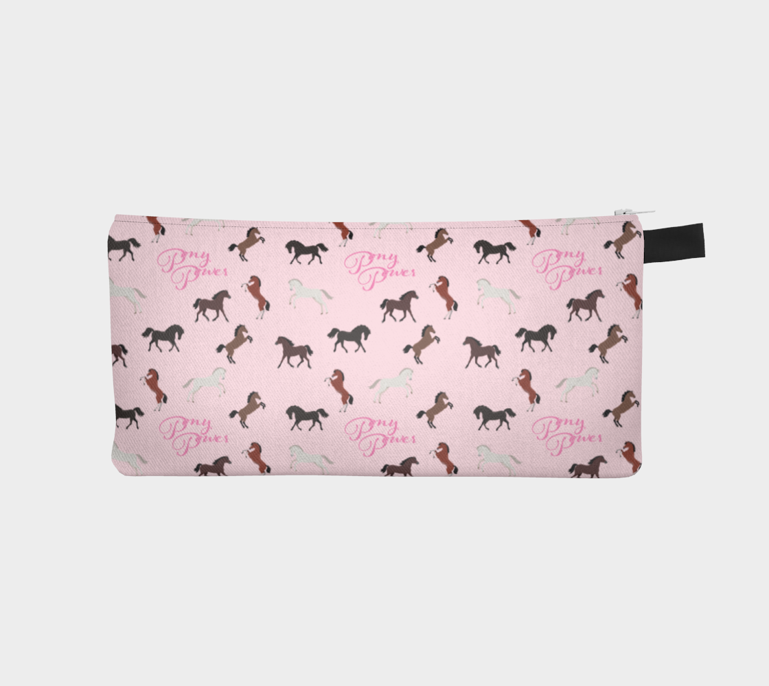 Pony Power Pencil Case