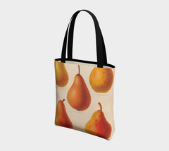 I'll Take  A Pear Vintage Botanical Tote