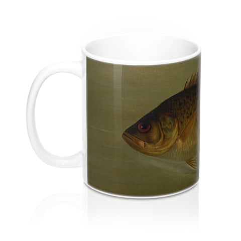Rock Bass Vintage Print Mug 11oz.