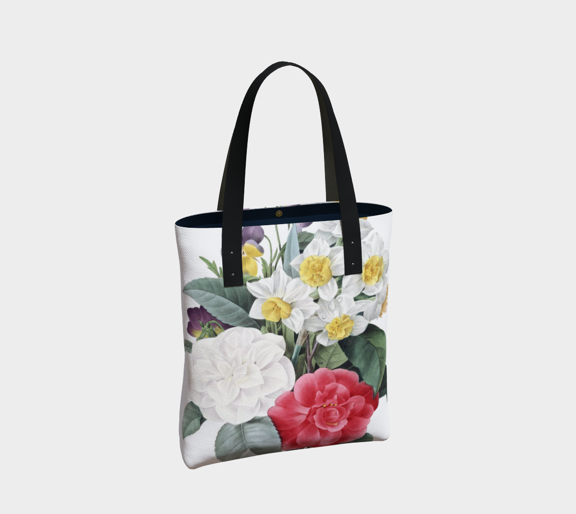 Vintage Botanical Mix Tote