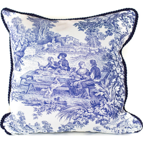 """Avignon"" French Toile Pillow."