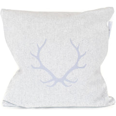 Antlers Merino Wool Throw Pillow.