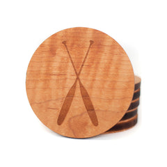 Paddles Maple Coasters