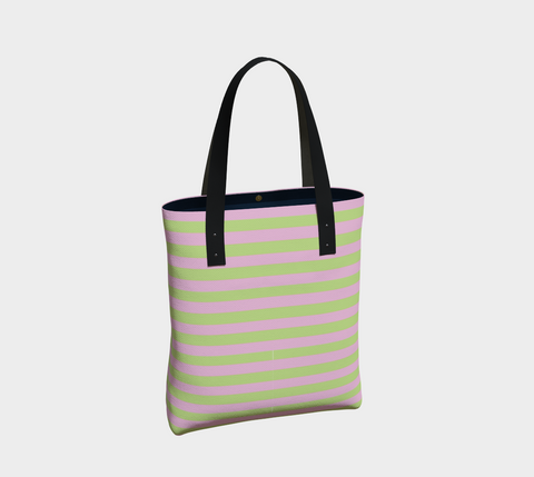 Palm Beach Horizontal Stripe Tote