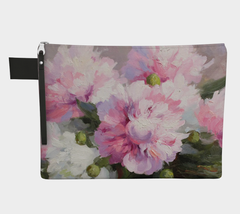 Painted Peony Carry All