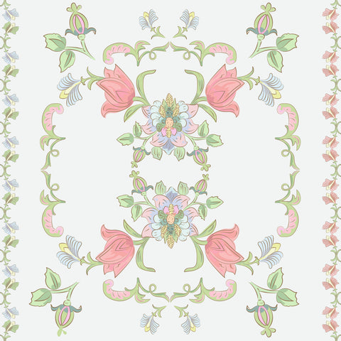 TUSCAN FLORAL tapestry