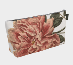 Vintage Botanical Peony 2 Make Up Bag